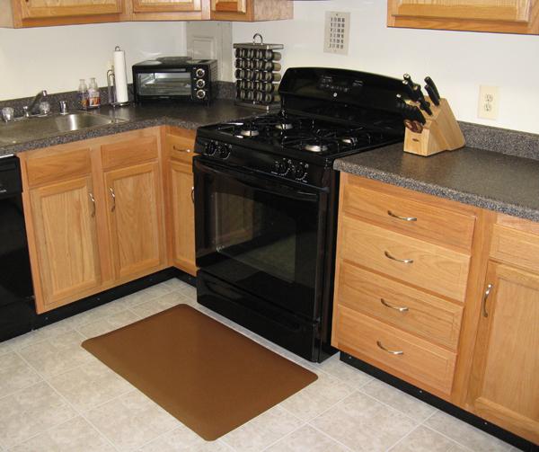Textured Design Kitchen Mats are Kitchen Floor Mats by