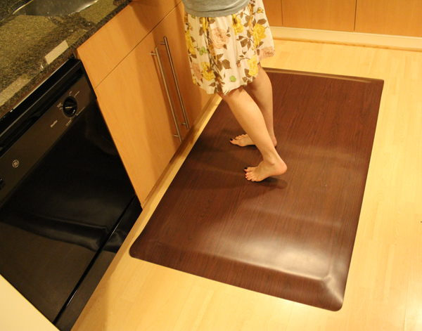 Wood Design Kitchen Mats Are Floor By