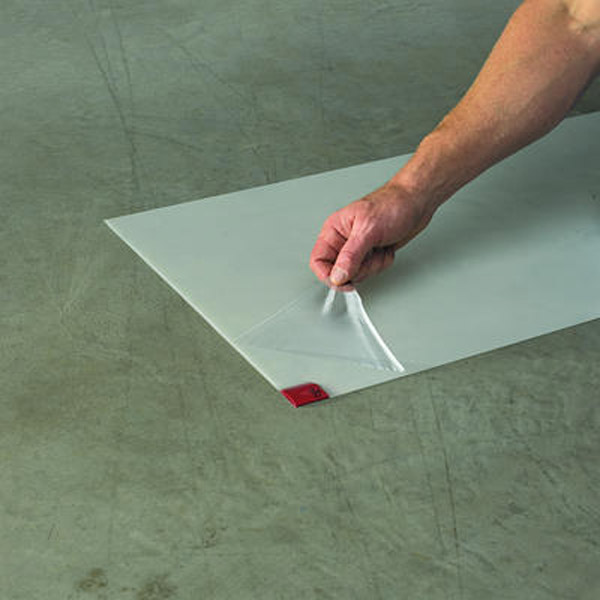 how to clean sticky floors