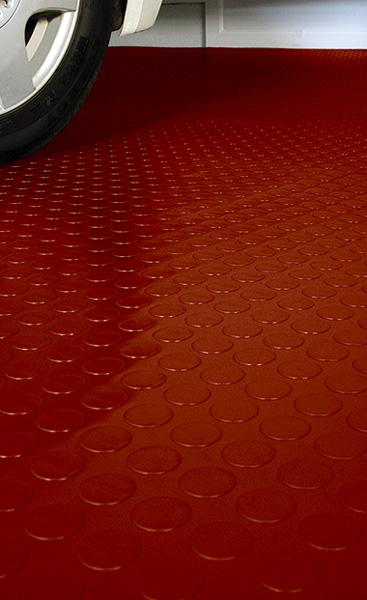 Circular Disk Garage Flooring Is Garage Flooring By