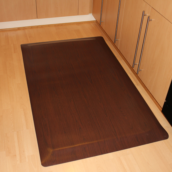 Wood design anti fatigue mats are anti fatigue mats by for Wood floor mat