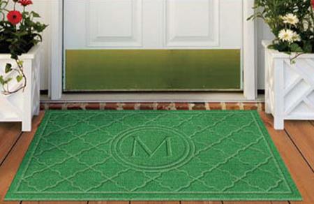 ... Monogrammed Waterhog Floor Mats