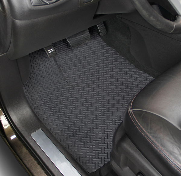 Best All Weather Floor Mats >> Heavy-Duty Rubber NorthRidge Car Mats are Rubber Car Mats ...