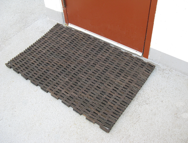 Rubber Tire Link Door Mats are Rubber Door Mats by ...