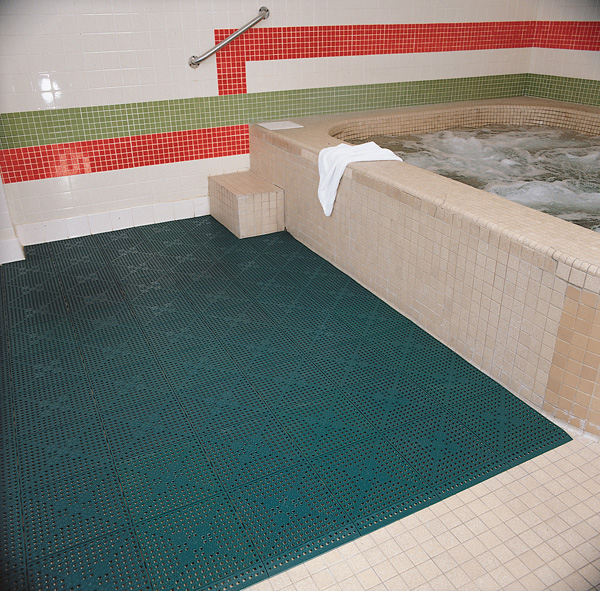 Turtle Tile Premium Drainage Tiles are Drainage Tiles by FloorMats.com