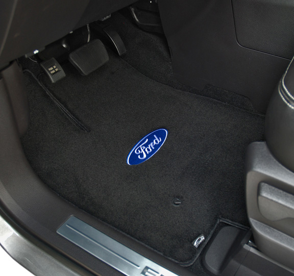 Deluxe carpet car mats are car floor mats by for Auto flooring