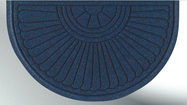 Waterhog Half Oval Grand Premier Door Mats Are Waterhog