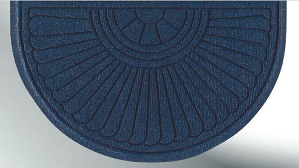 Waterhog half oval grand premier door mats are waterhog mats by