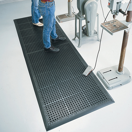 Rubber Drainage Anti Fatigue Mats Are Rubber Anti Fatigue