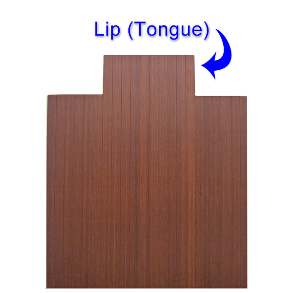 8 16 Quot Thick Bamboo Chair Mats Are Bamboo Tri Fold Office