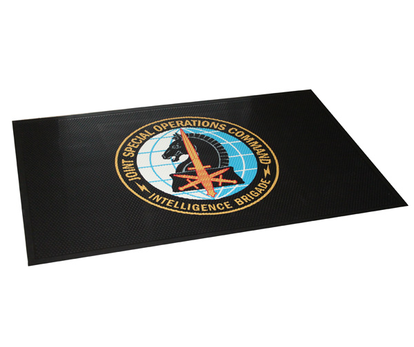 All Rubber Custom Logo Mats