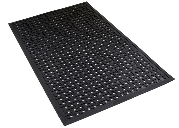 RubberDrainage Kitchen Mats