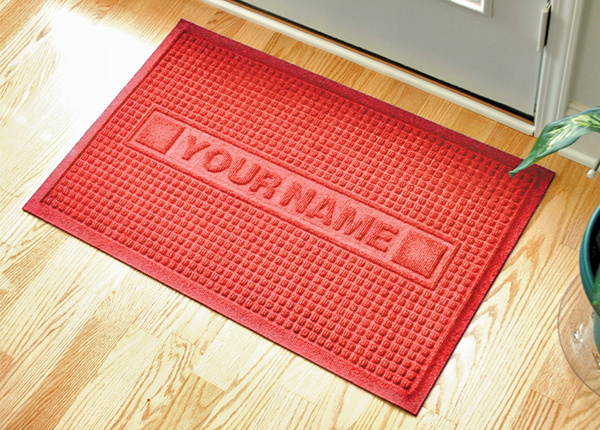 Personalized Waterhog Floor Mats Are Personalized Door