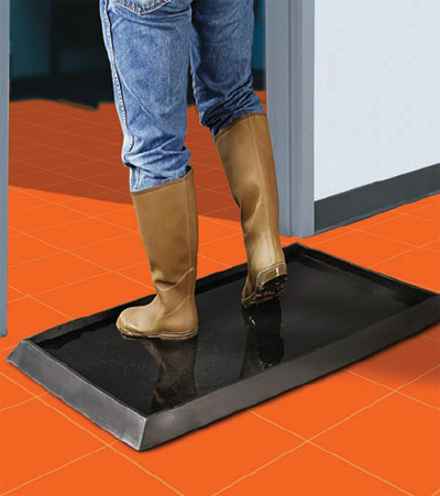 Sanitizing Footbath Mats Are Foot Baths