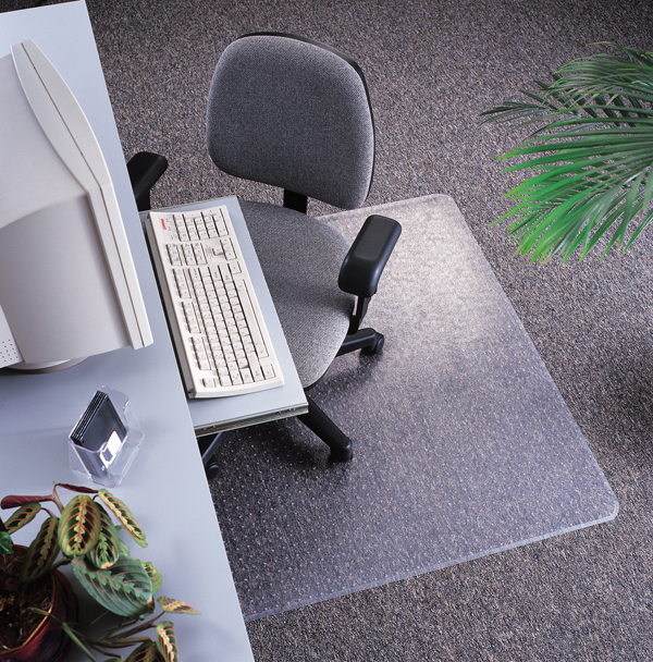 Static Mat For Office : Anti static office chair mats are by floormats