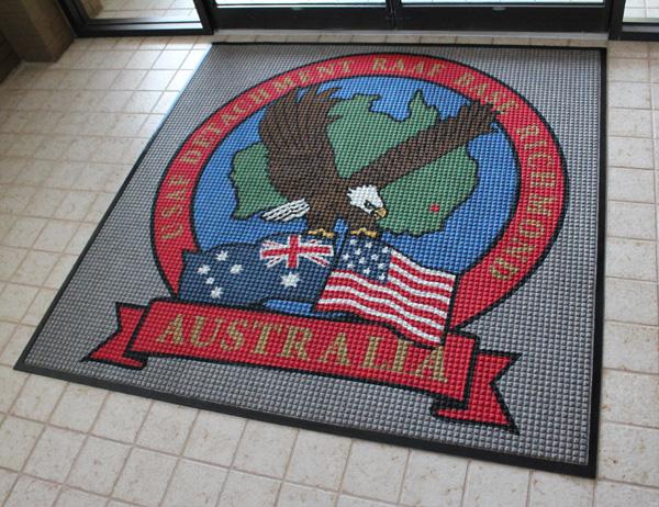 Waterhog Custom Logo Mats are Custom Floor Mats by FloorMats.com