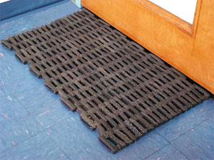 Rubber Tire Link Door Mats