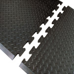 DiamondTop Modular Anti Fatigue Runner Mats