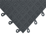 ErgoDeck Solid Anti Fatigue Mat Tiles