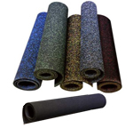 Rubber Gym Flooring Rolls